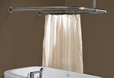 U Shaped Shower Curtain Rails