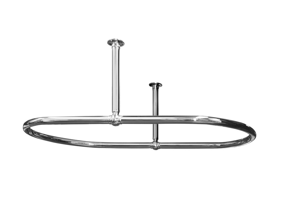 Oval Shower Curtain Rail Ovsr1