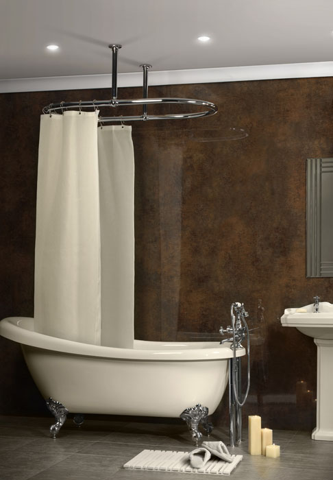 Oval Shower Curtain Rail OVSR1