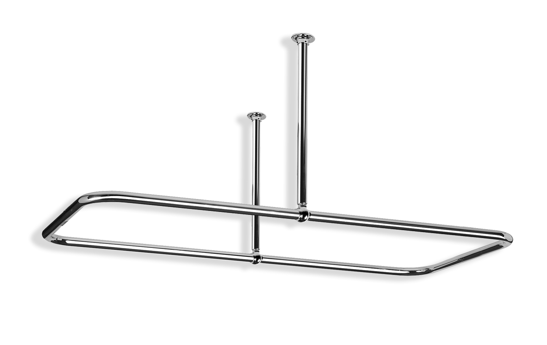 Rectangular Shower Curtain Rail Rsr3