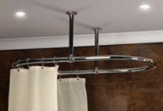 shower curtain rails just shower rails circular corner. Black Bedroom Furniture Sets. Home Design Ideas